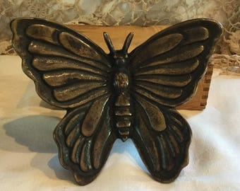 Vintage Brass Butterfly Doorknocker by SPI / Discontinued Style