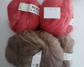 1107-Mix Vintage Mohair Yarn