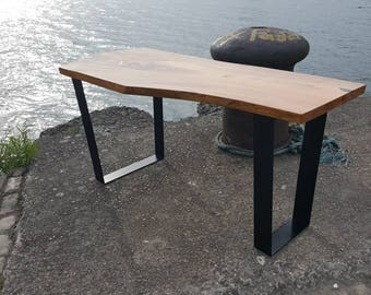 Elm slab dinning table