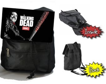 The Walking Dead Negan Jeffery Dean Morgan Mini Shoulder Bag Purse