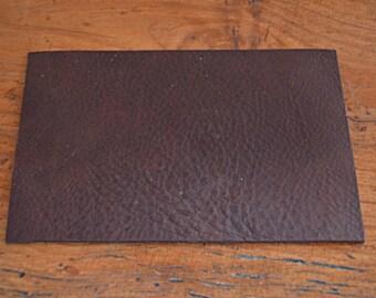 Genuine Brown cowhide leather coupon dark (8690292)