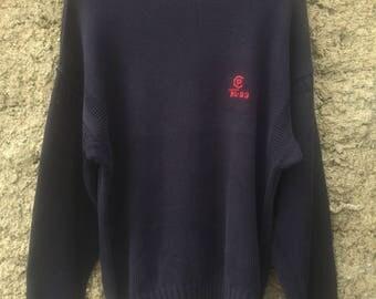 VTG Polo RL-93 Knit Sweater Size L
