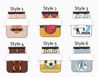 Basketball comforters, Basketball Comforters Set Toddler, Twin, Queen, King, Comforters Set, Comforters Bedding Sets, Custom Comforters Set