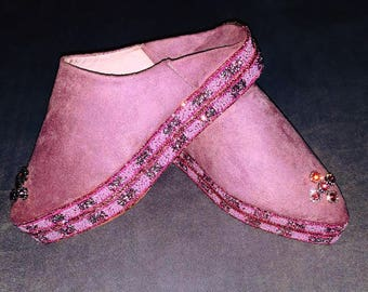 Moroccan babouche, babouche slippers, leather slippers, women slippers, traditional babouche, pure leather slippers, modern babouche