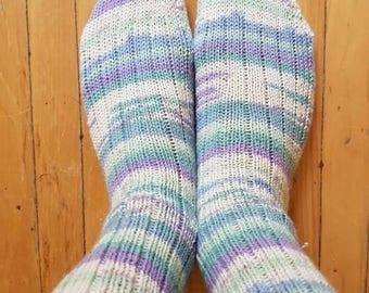 Socks, pastel dream classic ribbed