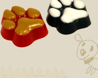 Paw Soap-Dog Paw Soap-Dog Lover Soap-Kids Soap-Joke Soap-Gag Gift-Fun Gift
