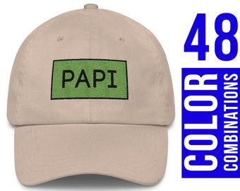 Papi Hat Papi Gift Papi Baseball Hat Papi Cap Papi Baseball Cap Papi Embroidery Grandpa Gifts for Grandfather Gifts for Grandpa Smooth Toast