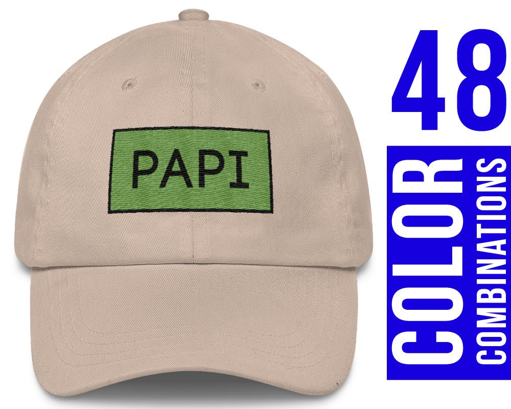 Papi Hat regalo Papi Papi béisbol sombrero tapa Papi Papi