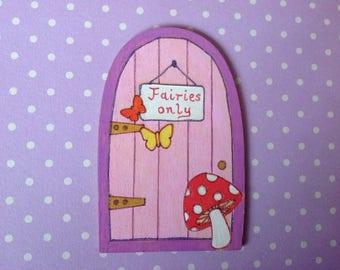 Toadstool fairy door