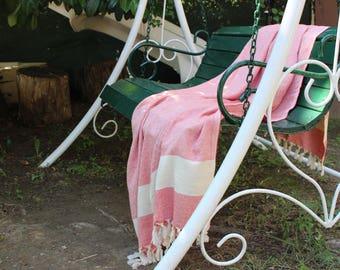 turkish%100,Cotton,orange,VerySoft,Towel,Beach,Travel,natural,Size 170-98
