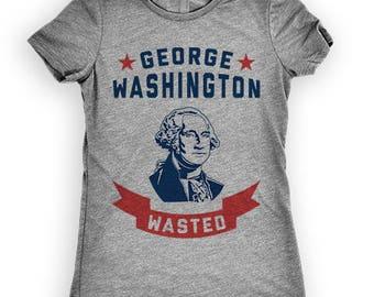 George Washington Wasted, July 4th