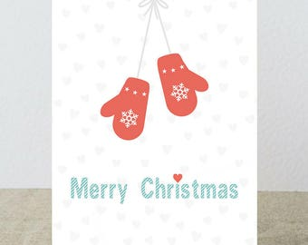 Wish for you Christmas card full of beautiful things!