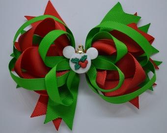 Disney Christmas Ornament - Hair Bow Clip - 12.5cm
