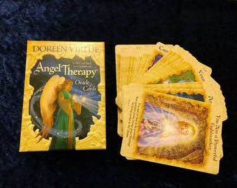 Angel Therapy Oracle Card Reading with pictures, Spirit Guided by Reader of 28 years experience