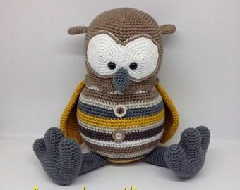 OWL / OWL / crochet blanket / Amigurumi /.