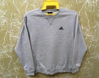 Adidas big logo hip hop swag sweatshirt jacket