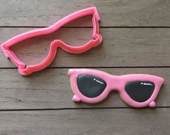 Sunglasses / Eye Glasses Cookie Cutter