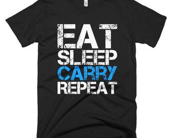 Eat Sleep Carry Repeat Gamer T-shirt