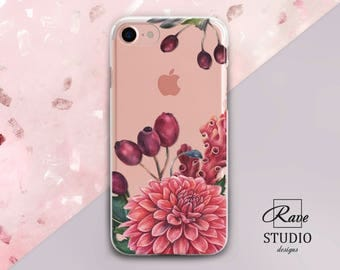 Chrysanthemum Flowers case Floral iPhone 7 case iPhone floral case iPhone7 plus case Case for iPhone iPhone6s iPhone8 iPhones 5 case iPhone