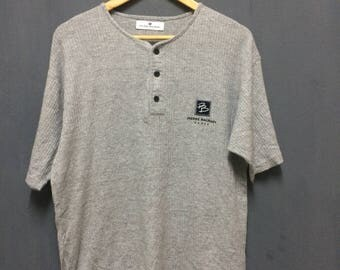 Vintage Pierre Balmain Paris Gray shirt Size M