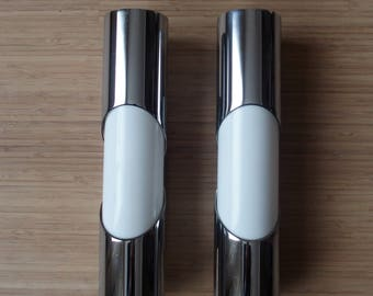Set of two vintage space age sconces/Wall lights/wandlamp1960