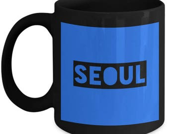 Traveler's Seoul Coffee Mug - Seoul - Best Gift for Seoul Lovers