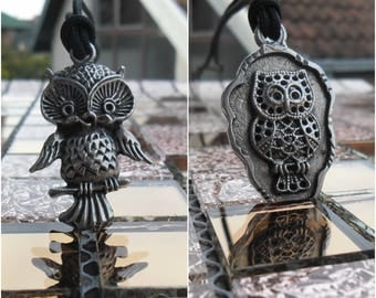 Owl Necklace keychain,Personalized Owl,Owl Jewelry,Owl Pendant,woman charm,Nature Jewelry,Personalized Bird Necklace,Owl charm,Wisdom symbol