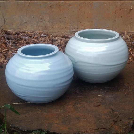 Small Slip Vases Ready to Ship