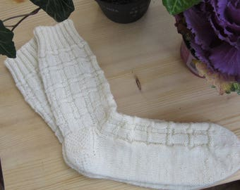 Hand-knitted socks Gr. 40-43