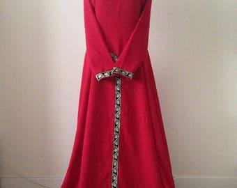 Medieval dress, medieval wedding dress, renaissance dress, elven dress, fairy dress, larp dress, gothic dress, festival dress