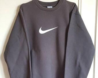 Vintage 90s Nike Sweatshirt 80% cotton size S (XS/S).