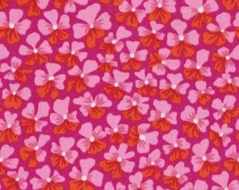 Pink PATCHWORK fabric KAFFE FASSET PWGP 123 PURPLES