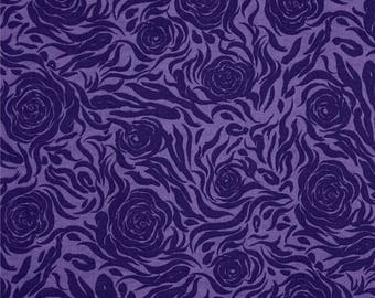 ABSTRACT pink PURPLE purple patchwork fabric