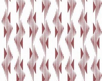 Burgundy MARSALA hawthornthreads patchwork fabric