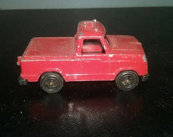 Tootsie toy red pick up truck  Metal Car Toy  Diecast toys