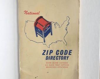 National Zip Code Directory 1967