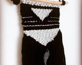 Modern weaving weaving art