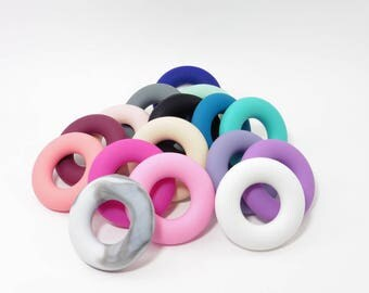 Silicone ring diameter 40mm for creating teether
