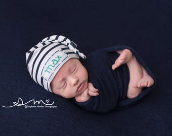 boy hospital outfit, personalized baby hat, newborn name hat, baby knit hat, embroidered baby hat,baby name hat, personalized hospital hats