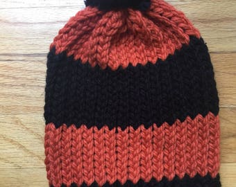 Loom Knitted Baby Beanie