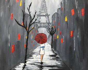Stormy Night in Paris