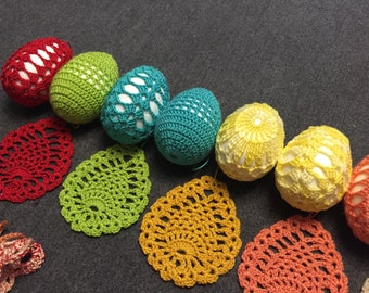 Easter crochet decorations
