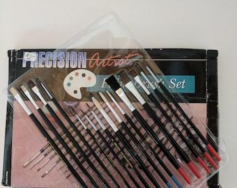 Precision Artist Paint Brush Set