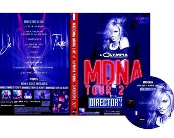 MDNA Tour Olympia Special Paris DVD (Directors Cut) - Madonna