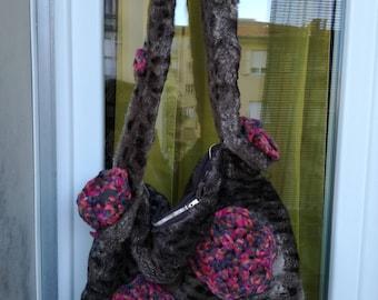 Eco-friendly fur bag