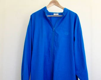 electric blue wind-cheater |VINTAGE|