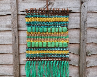 Hand Woven Wool Tapestry