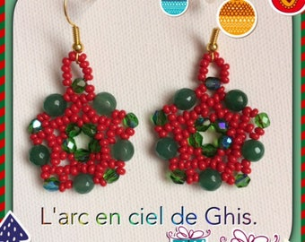 Earrings Christmas special.