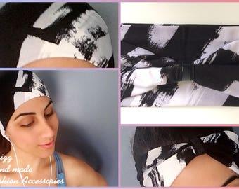 Non-Slip Workout Headband - Yoga Headbands - Fitness Headband - Running Headband - Boho Wide Headband - No Slip – Sweat-Wicking