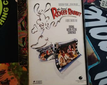 Who Framed Roger Rabbit soundtrack cassette